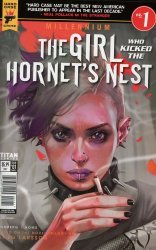 Titan Comics's Hard Case Crime: Millennium - The Girl Who Kicked The Hornet's Nest Issue # 1c