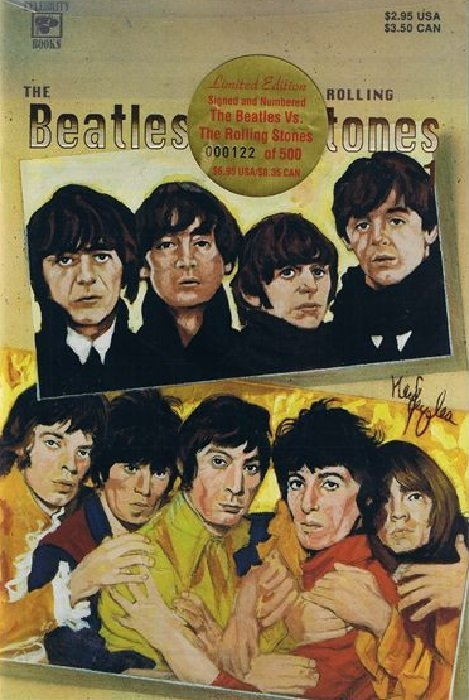 the beatles vs. the rolling stones essay The beatles and the rolling stones were also constantly breaking down barriers in their society, which was a constant feature of the trends of the 1960's barriers such as parents and older people being against anything new, different or independent for the youth of the sixties, but the beatles and the rolling stones were so good that they .