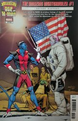 Marvel Comics's Age of X-Man: Amazing Nightcrawler Issue # 1e