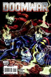 Marvel Comics's Doomwar Issue # 1