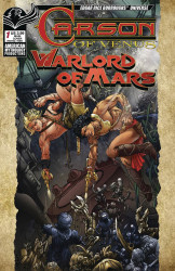 American Mythology's Carson of Venus: Warlord of Mars Issue # 1