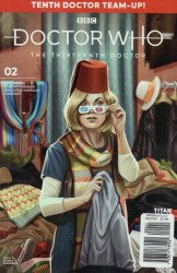 Titan Comics's Doctor Who: 13th Doctor - Season 2 Issue # 2d