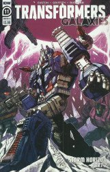 IDW Publishing's Transformers: Galaxies Issue # 11b