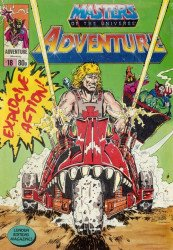 London Editions Magazines's Masters of the Universe Adventure Issue # 18