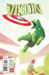 Marvel's The Vision Issue # 11
