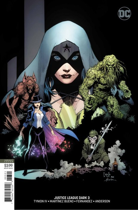 COMIC DC 2018 1st Print JUSTICE LEAGUE DARK #5