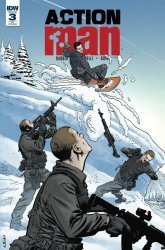 IDW Publishing's Action Man Issue # 3ri