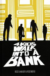 Black Mask Studios's 4 Kids Walk into a Bank Hard Cover # 1
