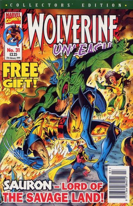 Image result for marvel uk Wolverine 31