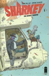 Image Comics's Sharkey the Bounty Hunter Issue # 1c