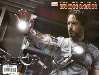 Marvel Comics's Invincible Iron Man Issue # 1c