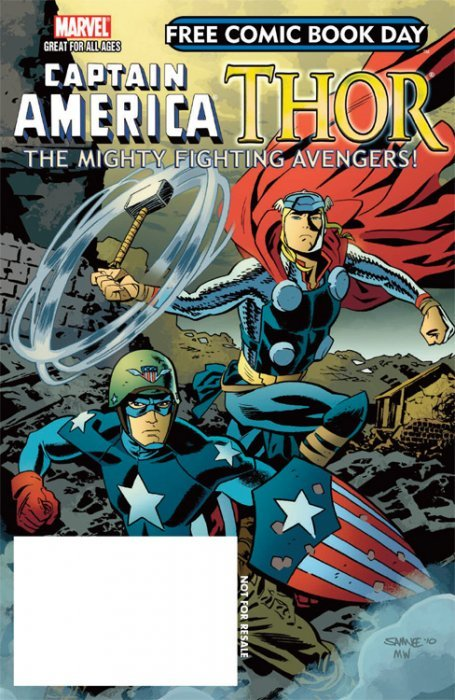 Captain America / Thor: Mighty Fighting Avengers 1 (Marvel ...