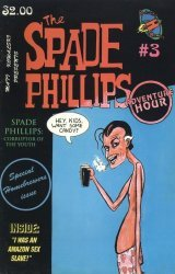 Rocketship Comics's Spade Phillips Adventure Hour Issue # 3