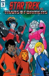 IDW Publishing's Star Trek vs Transformers Issue # 3ri