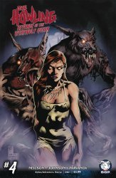 Space Goat Productions 's The Howling: Revenge Of The Werewolf Queen Issue # 4