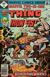 Marvel Comics's Marvel Two-in-One Issue # 25whitman