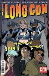 Oni Press's The Long Con Issue # 3