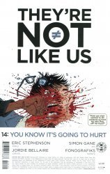 Image Comics's They're Not Like Us Issue # 14