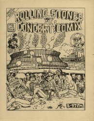 Rolling Stones Records's Rolling Stones Concert Comix Issue # 1b97 radio