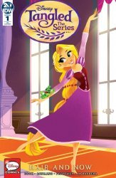 IDW Publishing's Tangled The Series Hair and Now Issue # 1ri