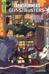 IDW Publishing's Transformers / Ghostbusters Issue # 2