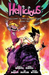 Starburns Industries Press's Hellicious TPB # 2
