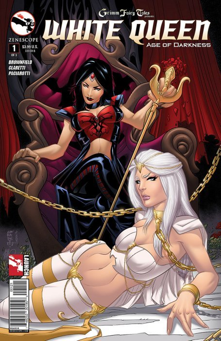 Book Cover White Queen : Grimm fairy tales presents white queen b zenescope