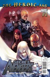 Marvel Comics's Secret Avengers Issue # 1