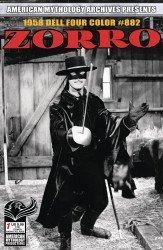 American Mythology's American Mythology Archives Presents: Zorro Issue # 1b