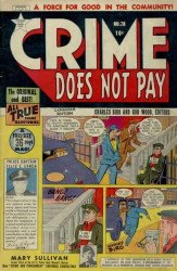 Lev Gleason Publications's Crime Does Not Pay Issue # 78b
