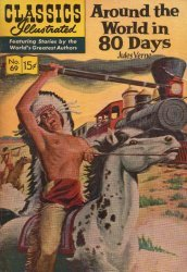 Gilberton Publications's Classics Illustrated #69: Around the World in 80 Days Issue # 6