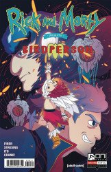 Oni Press's Rick And Morty Presents: Birdperson Issue # 1b
