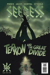 Source Point Press's Seeress: Terkon And The Great Divide Issue # 1