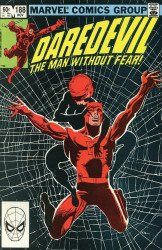 Marvel Comics's Daredevil Issue # 188