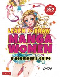 Tuttle Publishing's Learn to Draw Manga Women: A Beginner's Guide Soft Cover # 1