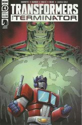 IDW Publishing's Transformers vs Terminator Issue # 4b