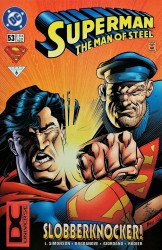 DC Comics's Superman: Man of Steel Issue # 53b