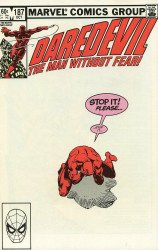 Marvel Comics's Daredevil Issue # 187