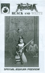 Antarctic Press's Warrior Nun Areala: Black and White / Shotgun Mary: Blood Lore Issue ashcan