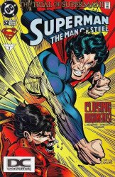 DC Comics's Superman: Man of Steel Issue # 52b