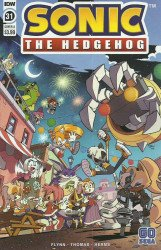 IDW Publishing's Sonic the Hedgehog Issue # 31