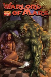Dynamite Entertainment's Warlord of Mars Issue # 25b