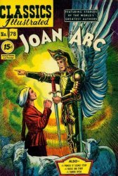 Gilberton Publications's Classics Illustrated #78: Joan of Arc Issue # 3