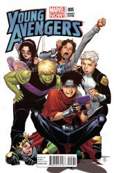 Marvel's Young Avengers Issue # 5b