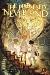 Viz Media's The Promised Neverland Soft Cover # 13
