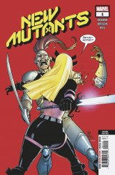 Marvel Comics's New Mutants Issue # 1 - 2nd print