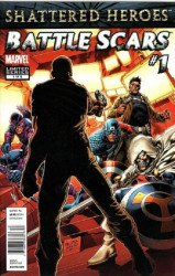 Marvel Comics's Battle Scars Issue # 1b