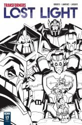 IDW Publishing's Transformers: Lost Light Issue # 17ri
