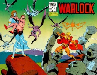 Marvel Comics's Warlock: Special Edition Issue # 4