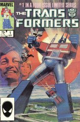 Marvel Comics's Transformers Issue # 1